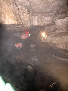 Caving in Ontario - Wasteland waterway