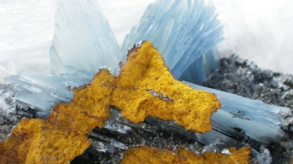 Barite from Morocco